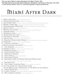 The Dark List